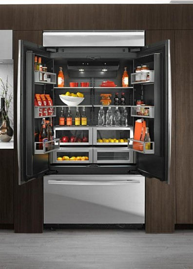 Jenn-Air Built-In 2-Door Bottom Mount Refrigerator