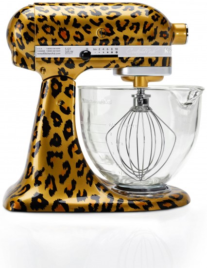 KitchenAid Leopard Stand Mixer
