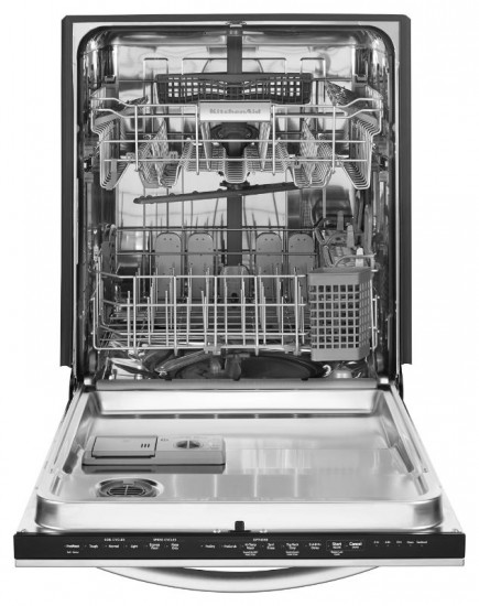 how to clean the inside of an industrial dish washer