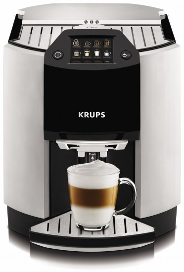 krups introduces barista ea9000 one touch cappuccino machine electro kitchen. Black Bedroom Furniture Sets. Home Design Ideas