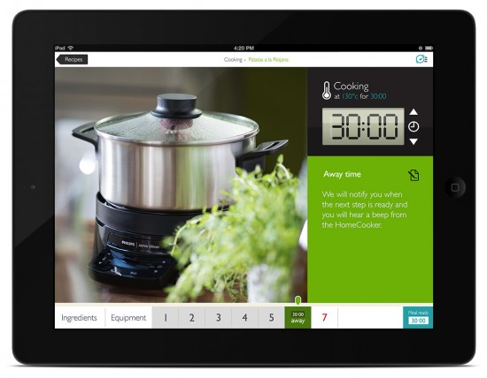 Philips HomeCooker neXt App