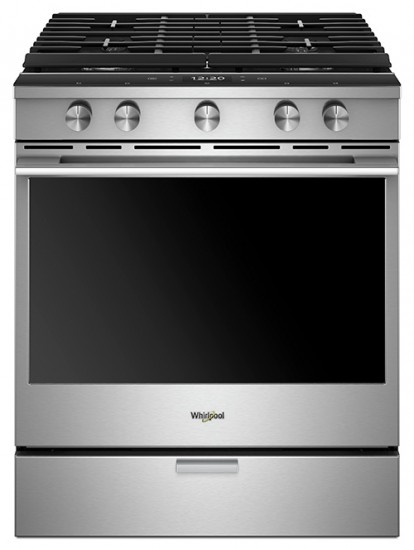 Whirlpool Smart Front Control Range: Now With Voice Control